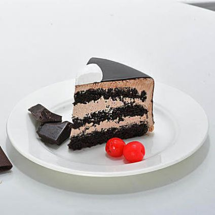 Fruits Chocolate Cake