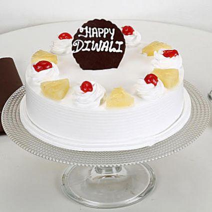 Diwali special Pineapple cake