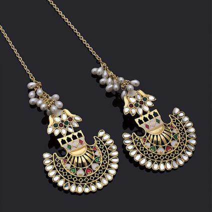 Pankh Earrings Inspired