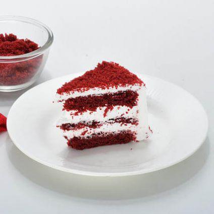 1KG Cake Red Velvet Heart Shape