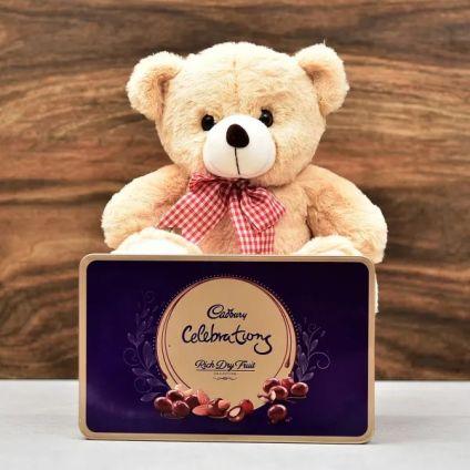 Teddy Bear & Cadbury Celebration Pack