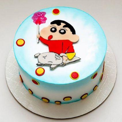 Shinchan Cartoon Cake
