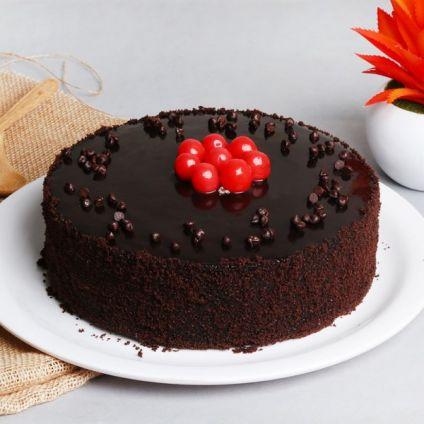 Chocolate Truffle Cake 1/2 Kg Eggless