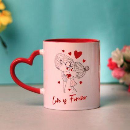 Love is Forever Valentine's day Mug