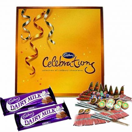 Celebration Pack With assorted Crackers