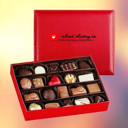 Chocolate with designer box