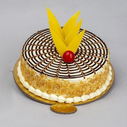 Round Crunchy cake