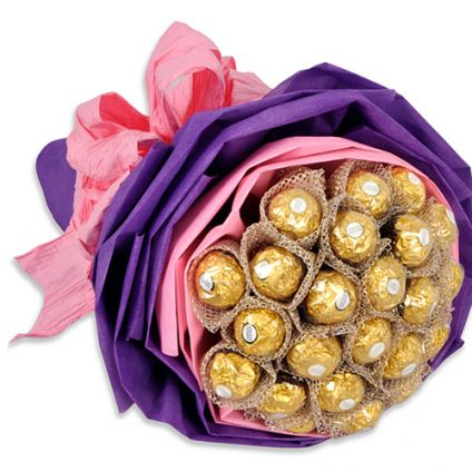 Bouquet Of 24 Ferrero rocher