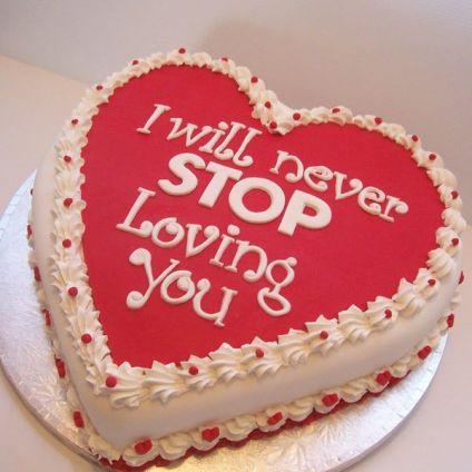 Never stop loving cake
