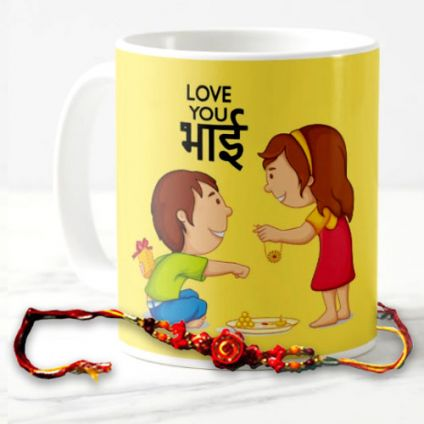 Mug With Rakhi