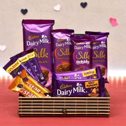 Cadbury Silk With Crackle