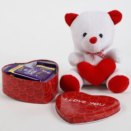 Cadbury in Heart Box