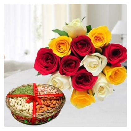 Mixed Rose with dry fruit