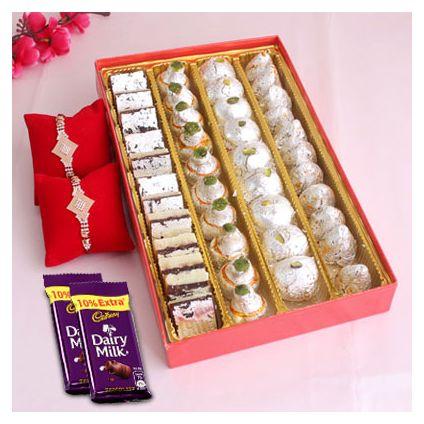 kajuroll Rakhi Sweets
