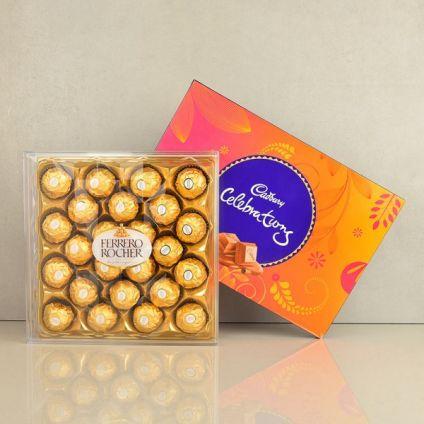 Rocher with Cadbury