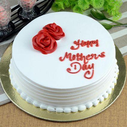 Mother's day vanilla cake