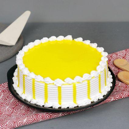 Vanilla Yellow cake