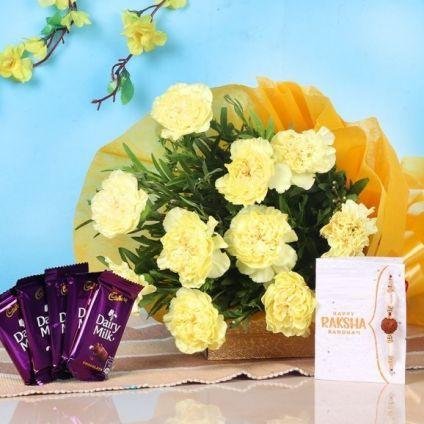 Carnation N Cadbury Chocolates