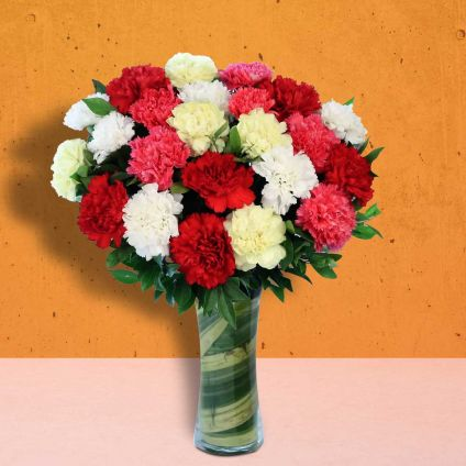 Medium Carnation Bouquet