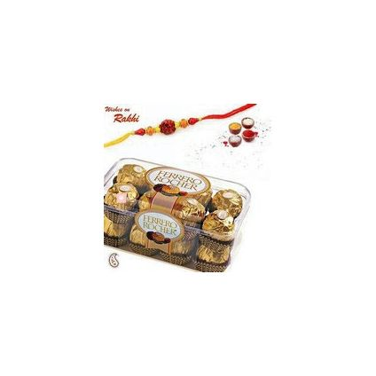 16 pcs Ferrero Rocher with Rakhi