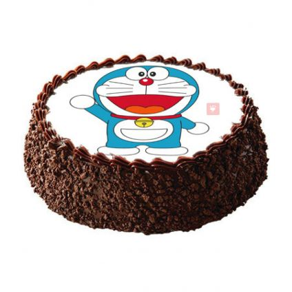 Doremon Photo chocolates cake