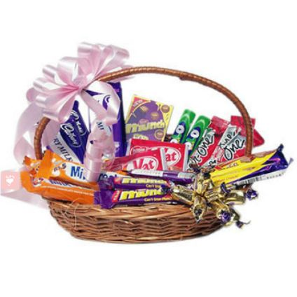 Basket of 20 Mixed chocolates