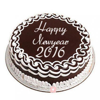1 kg New Year Chocolate Cake