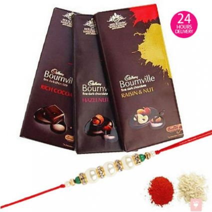 3 Bournville chocolate 1 Rahki