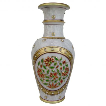Marble Vase 9 inch