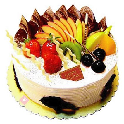 Creamy Fruits Cake