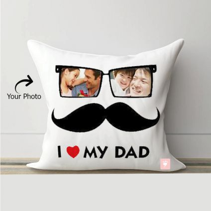 I love Dad Cushion