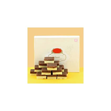 Chocolate Burfi Sweets rakhi