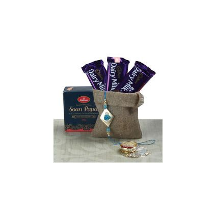 Dairy Milk With Rakhi