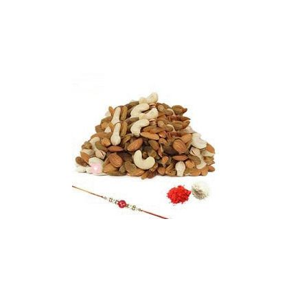 1kg Mixed Dry Fruits With Rakhi