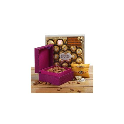 Royal Box of 2 Rakhi Set
