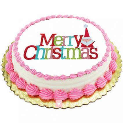 Merry Christmas Butter Scotch Cake