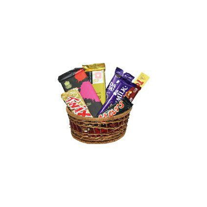 Basket of Mixed special Chocolates
