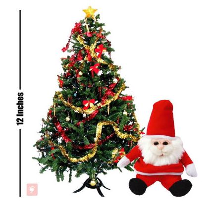 Christmas Tree & Santa