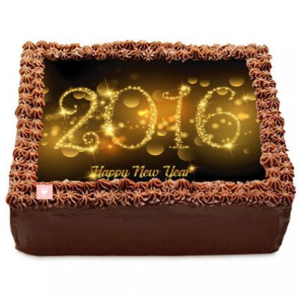 New Year Chocolates truffle Cake 2 Kg