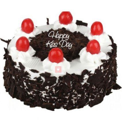 Kiss Day Black forest cake 1/2 kg