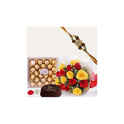 Ferrero Rocher With Rakhi