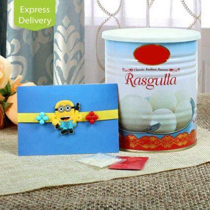 Kids Rakhi Rasgulla Hamper