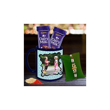 Chocolates & Personalised Mug Hamper
