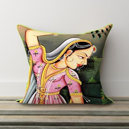 Pillow With Rajasthani design