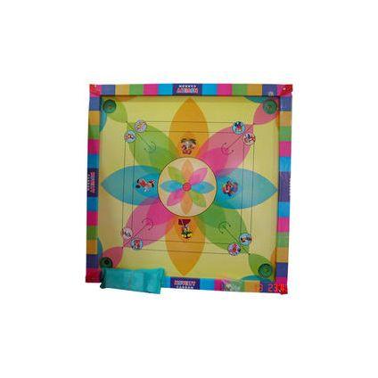 Plastic Multicolor carrom board