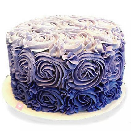 Flower Design Cake