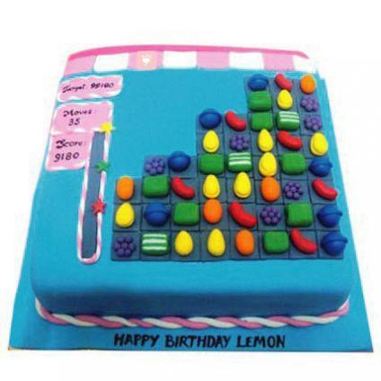 Square design Cake