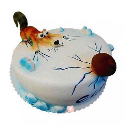 Hunting design Cake