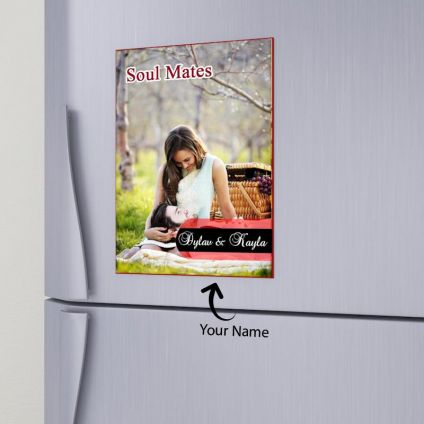Soul Mate Personalized Magnet