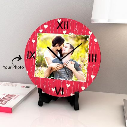 Wall Clock Photo Personalized